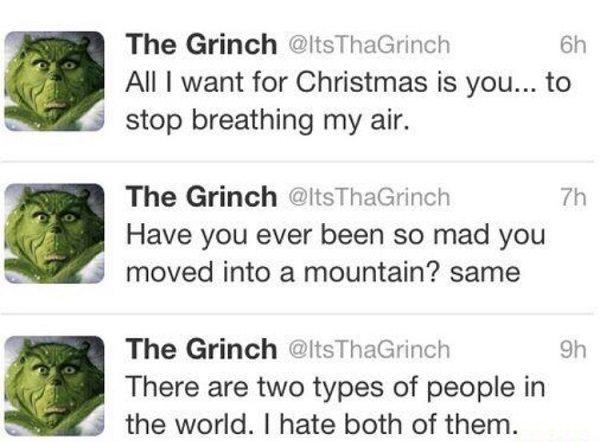 Grinch Tweets