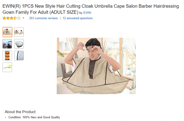Hair Umbrella