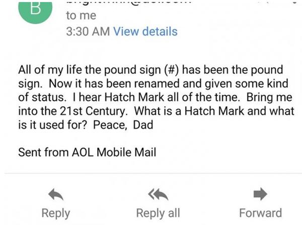 Hash Mark Sign