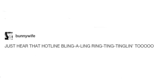 Hotline Bling Ring