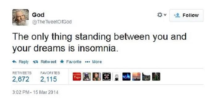 Insomnia God Funny