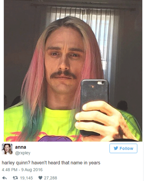 James Franco Harley Quinn