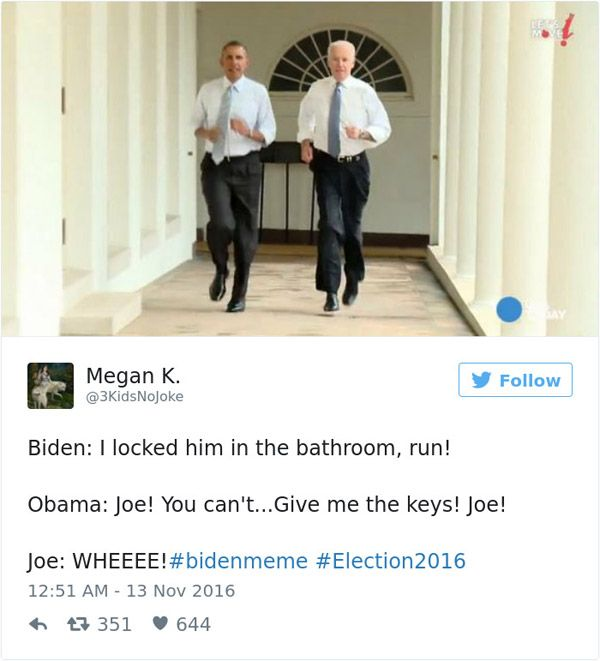 Joe Biden Bathroom