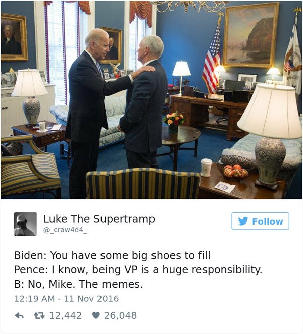 Joe Biden Big Shoes