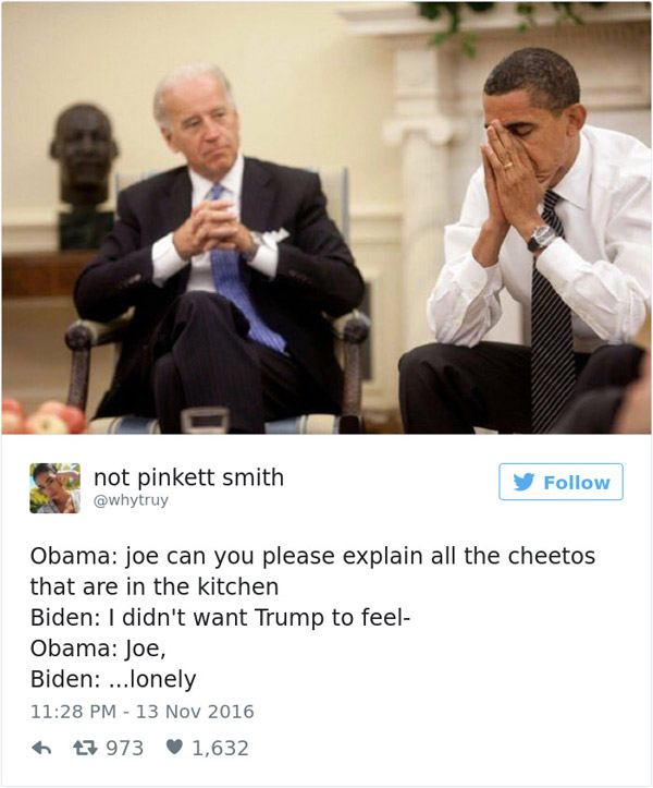 Joe Biden Cheetos