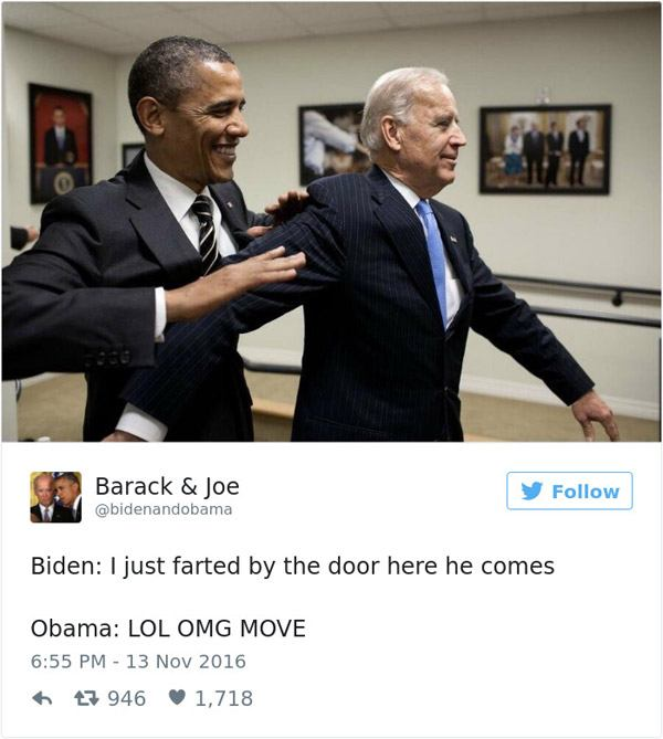 Joe Biden Farted