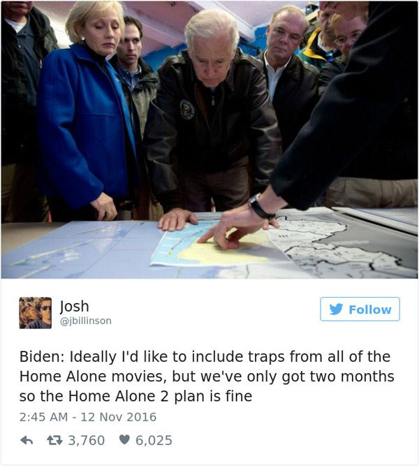 Joe Biden Home Alone2