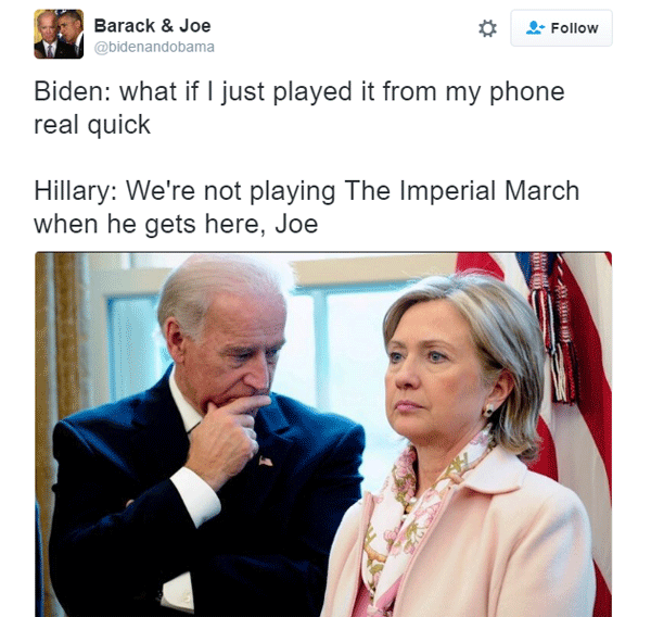 Joe Biden Iperial March