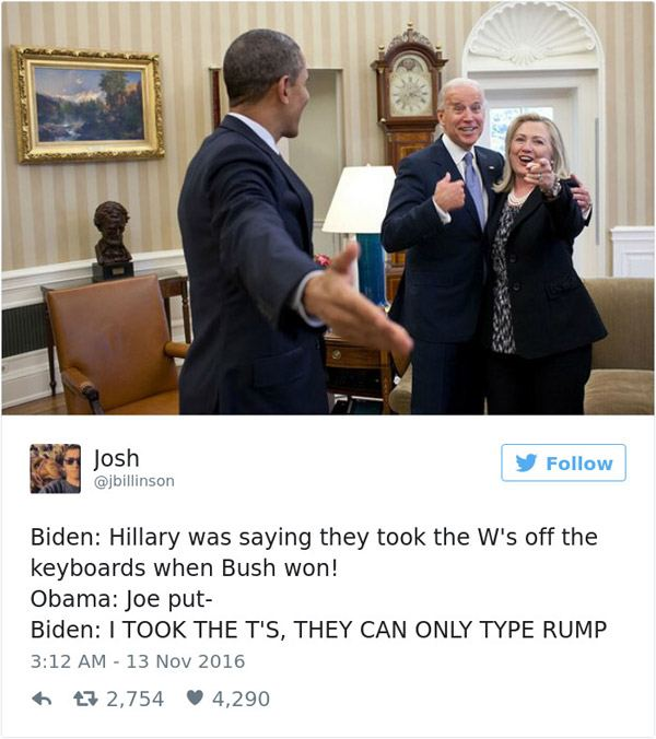 Joe Biden Keyboard