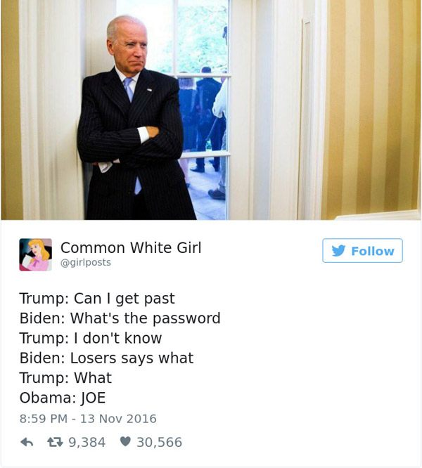 Joe Biden Loser What