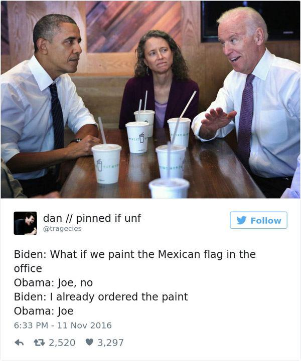 Joe Biden Mexican Flag