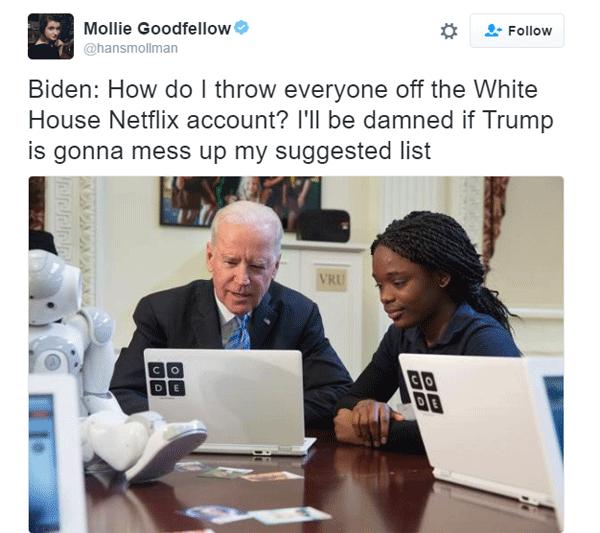 Joe Biden Netflix