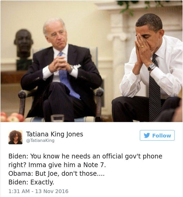 Joe Biden Note7