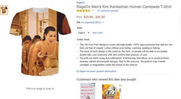 Kim K Centeped Shirt