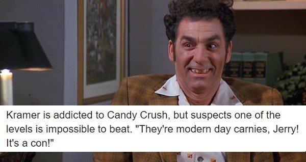 Kramer On Candy Crush