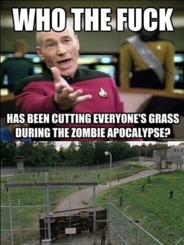 Lawnmower Picard