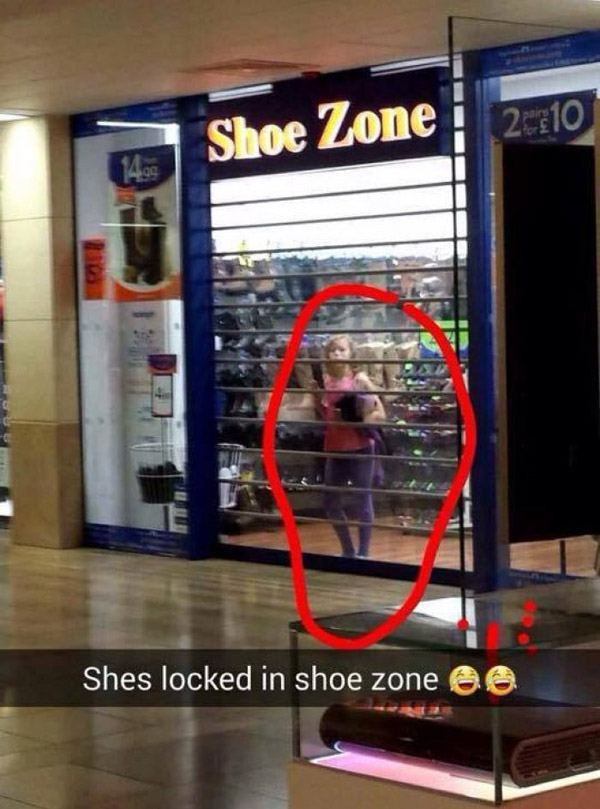 Locked In Shoe Zone