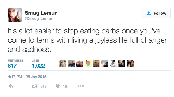 Love For Carbs Is Endless