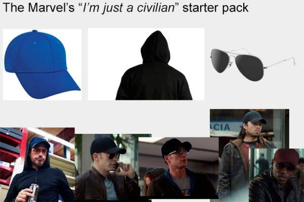 Marvels Hero Starter Pack