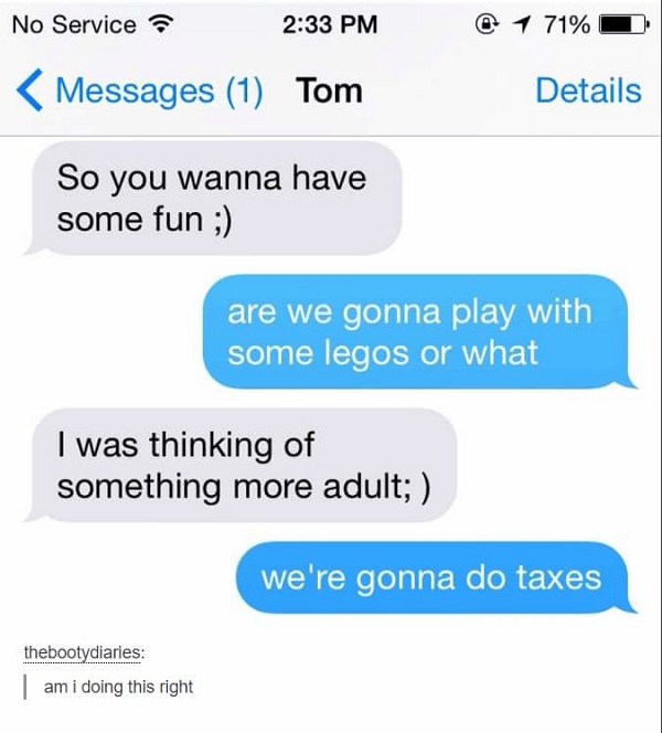 Maturity Is Taxes