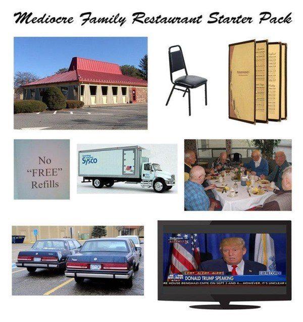 Mediocre Family Restaurant