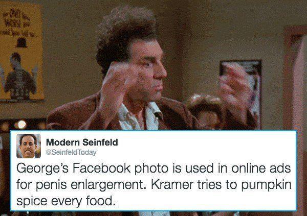 Modern Seinfeld Pumpkin Spice