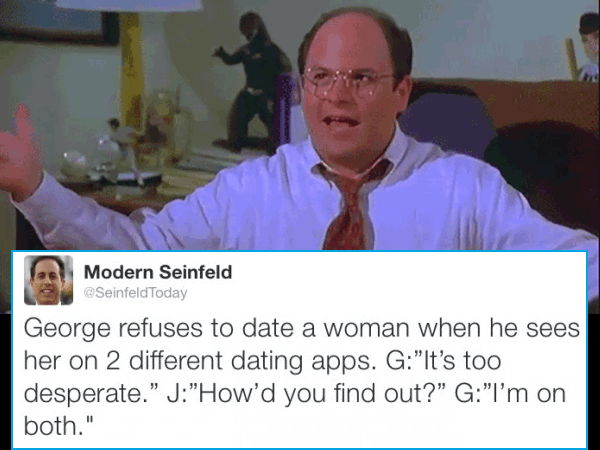 Modern Seinfeld Twitter
