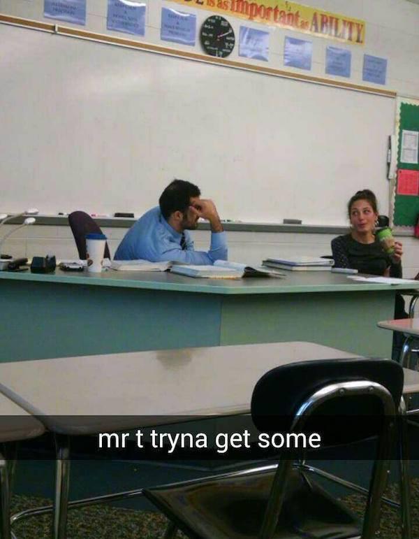 Mr T Got No Game