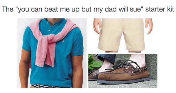My Dad Will Sue Funny Starter Packs