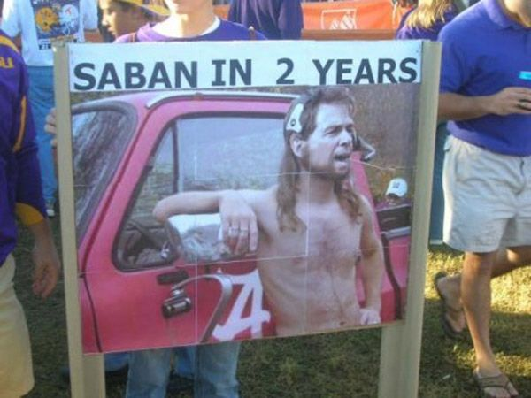 Nick Saban Redneck