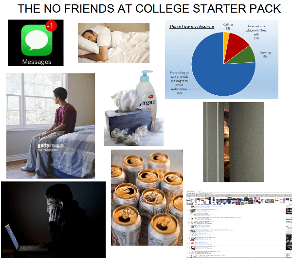 No Friends In College
