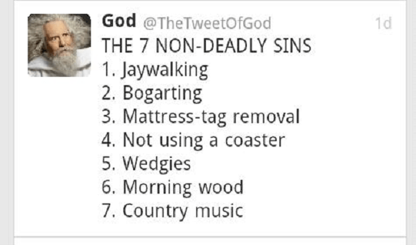 Nondeadly Sins