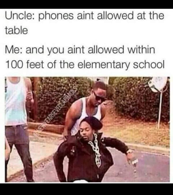 Not Allowed Near School