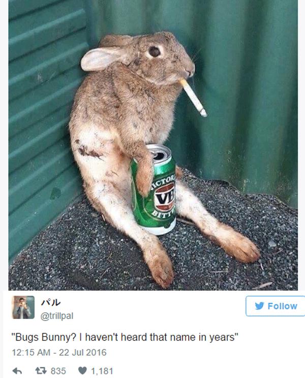 Old Bugs Bunny