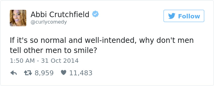 People Will Smile When They Want To