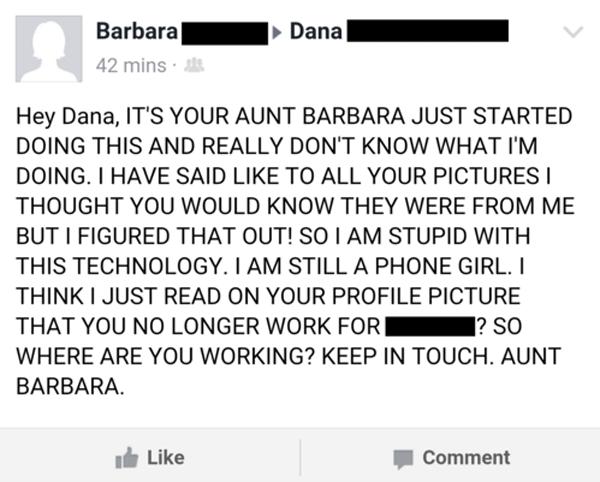 Phone Girl Aunt
