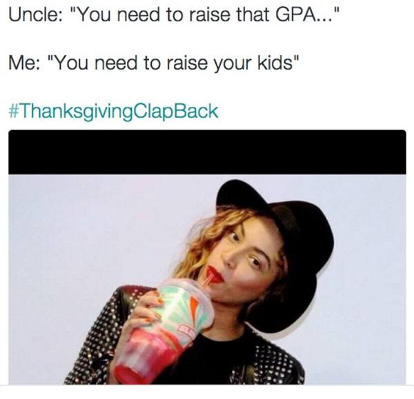 Raise Your Kids Clapback