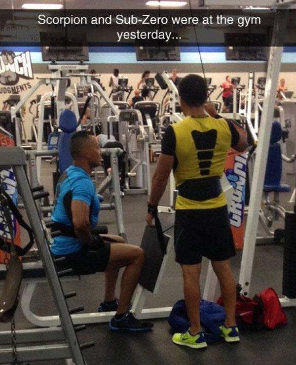 Scorpian Sub Zero Gym