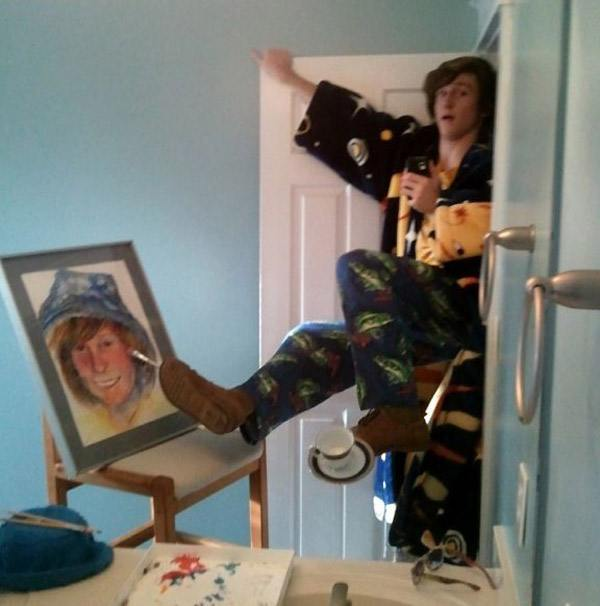 Self Portrait Selfie