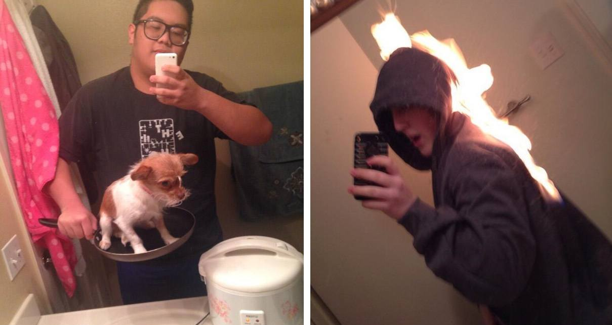 Selfies That Are Terrible