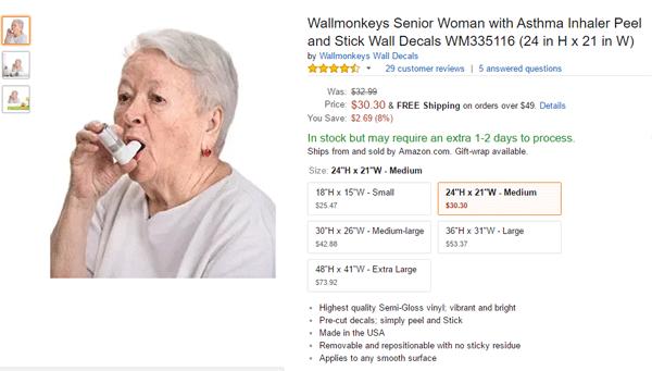 Senior Woman Stickers