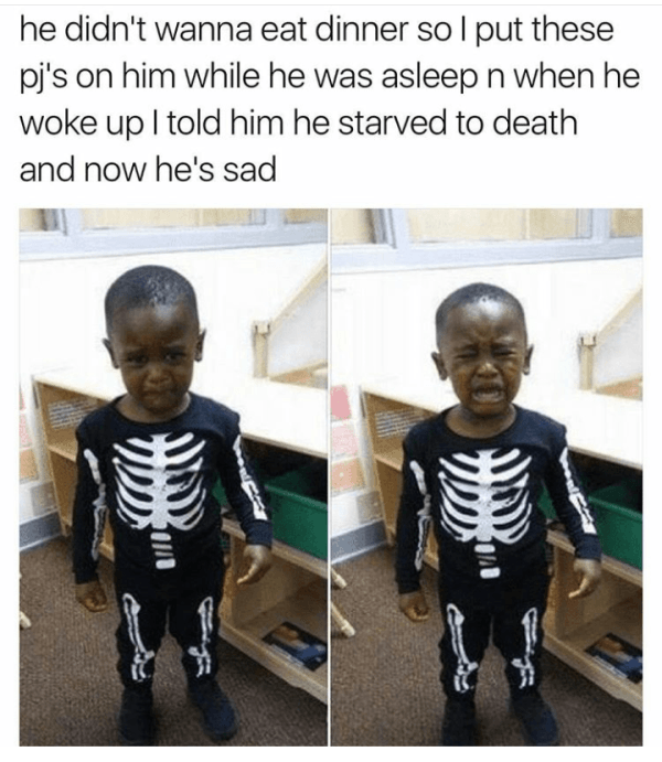 Skeleton Child
