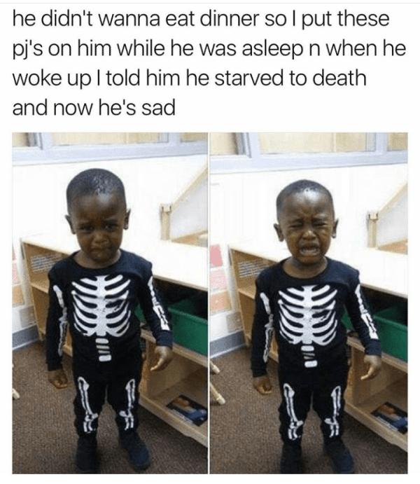 Skeleton Child
