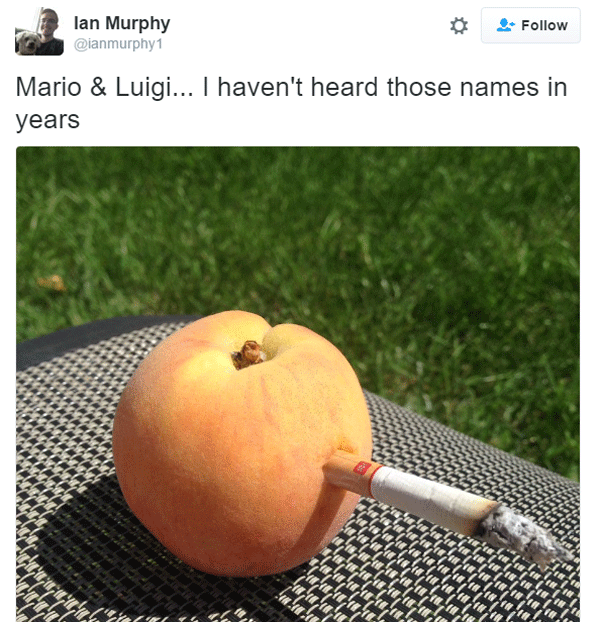 Smoking Peach