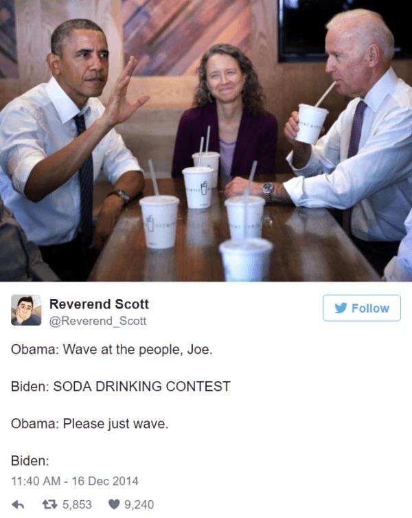 Soda Drinking Contest