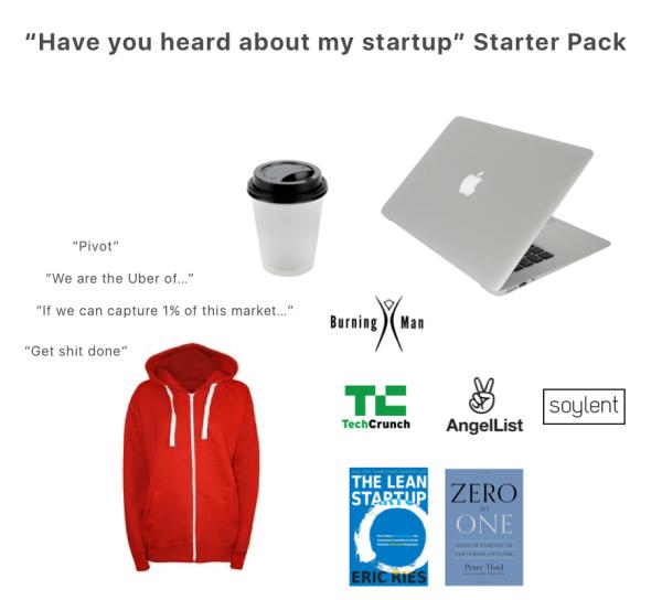 Start Up Funny Starter Packs