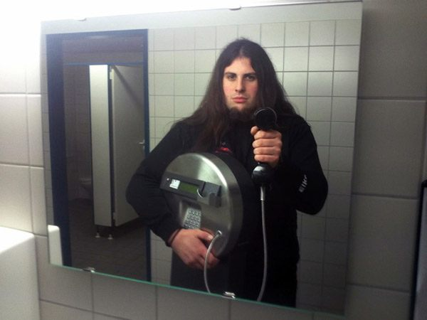 Stolen Phone Selfie