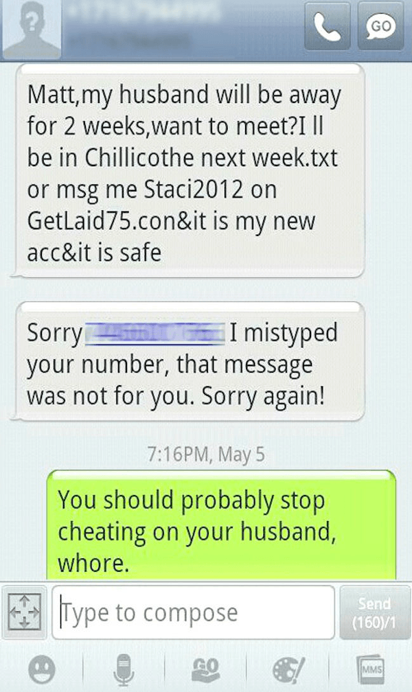 Stop Cheating On Innocent Husband