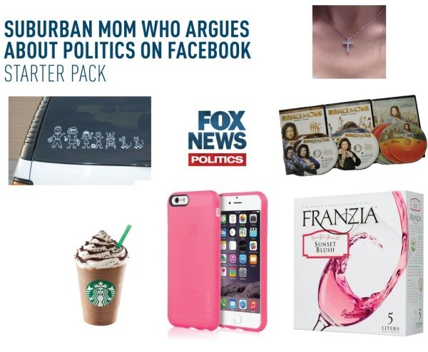Suburban Moms Funny Starter Packs