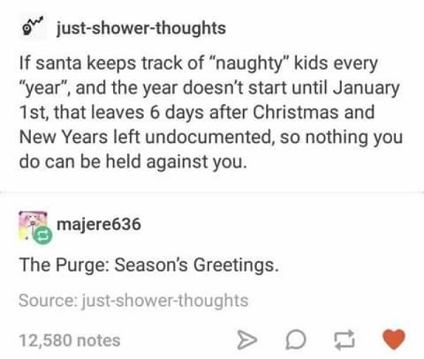 The Purge Seasons Greetings